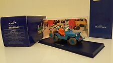 "Atlas ""In auto tintin"" - La Jeep Willys d'Obiettivo Luna (1/43)"