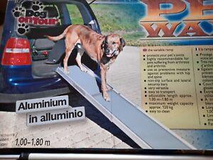 Portable dog ramp