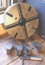 """MACHINIST MILL LATHE TOOL Skinner 4 Jaw 12"""" Lathe Chuck No. 912  A Threaded"""