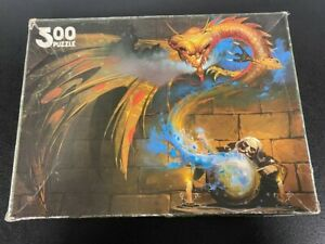 Games Workshop The Warlock of Firetop Mountain 500 Piece Jigsaw Fighting Fantasy