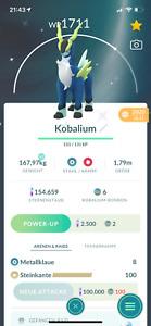 ✨* Pokemon Go Shiny Cobalion *✨