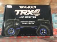 Traxxas Long Arm Lift Kit, TRX-4, complete Blue Part Number 8140x BLUE