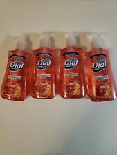 NEW Lot Of 4 Dial Hand Washing Soaps 7.5oz each Free Ship POMEGRANATE/TANGERINE