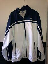 Herren Vintage Adidas Trainingsanzug Blau/Weiß, Größe 52 Gebraucht (Top-Zustand)