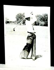 1936 Henry Picard, Hall of Famer, Practices his Swing in a Pair of Chaps, Orig.