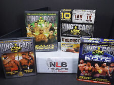 Lot of 4 King of the Cage DVD's (14 DVD SET)