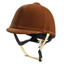 CALDENE COMPETITION TUTA PAS015 HORSE RIDING HAT BROWN NEW
