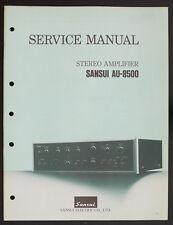 Sansui AU-8500 Original Amplificateur Stéréo / Manuel de Service / Diagram o151