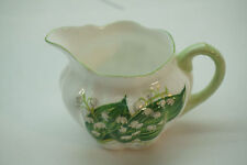 SHELLEY CHINA LILY OF THE VALLEY CREAMER CREAM DAINTY SHAPE PORCELAIN ENGLAND