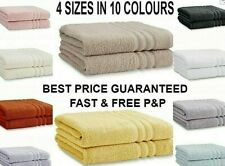 Catherine Lansfield Zero Twist Towels Luxury Hotel Quality 100% Cotton # SALE #