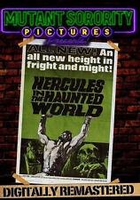 HERCULES IN THE HAUNTED WORLD - DVD - Region Free - Sealed