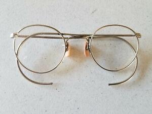 Vintage Ful Vue Wire Rim Glasses