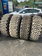 More details for x4 full set 16.9 24 bkt tr461 14p tractor tyres grass tyres 90% remaining