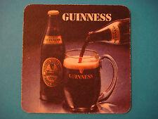 Beer Coaster Mat ~ GUINNESS Extra Stout <> Black Velvet, Half & Half, Shandygaff