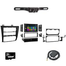 DVD GPS Navigation Multimedia Radio Dash Kit for Nissan Altima 2007-2013 BUNDLE