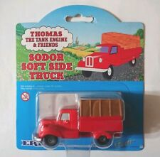 THOMAS THE TANK ENGINE ERTL SODOR SOFT SIDE TRUCK CARDED - RARE - NO. 62 - 1999
