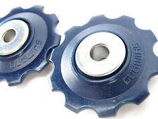 Shimano Blue Derailleur Pulley Set Vintage Road Bike New Nos