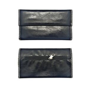 Leather Tobacco Magnetic Pouch Soft PU Fully Lined Black Colour Great Quality