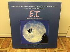 """E.T. The Extra-Terrestrial"" JAPAN LP DELUXE BOX Michael Jackson"