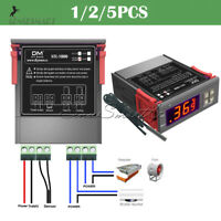 STC-1000 Digital AC 110-220V Temperature Controller Thermostat w/ Probe Sensor