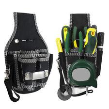 Electrician Waist Utility Screwdriver Kit Holder Case Pocket Tool Belt Pouch Bag