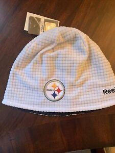 NWT NFL Pittsburgh Steelers Reebok Winter Hat Knit Beanie Cap NEW!
