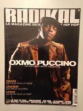 RADIKAL N°82 2004 OXMO PUCINO LE NOUVEAU BOSS DES MOTS