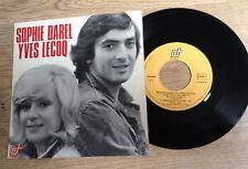 SP 45 tours Sophie Darel Yves Lecoq  Le giscardeon 1974 EXC/VG+