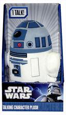 """Disney Star Wars R2 D2 R2-D2 Talking Plush Soft Stuffed Doll 9"""""""
