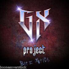 GX PROJECT - BITE STICK (*NEW-CD, 2012, Image) X-sinner, Zion - Christian Metal!