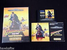 INDIANA JONES AND THE LAST CRUSADE - COMPLETE - SEGA MEGA DRIVE