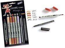 COPIC CIAO Marker 5+1 Set 22075561 MANGA 4 Multiliner Markerset für Einsteiger