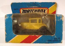 VINTAGE 1981 MATCHBOX MB-73 FORD MODEL A !NUOVO!!!