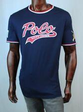 POLO Ralph Lauren Baseball Bear Logo~Screen Printed~NWT