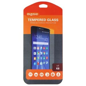 Base Tempered Glass Premium Screen Protector for LG K8 - Clear