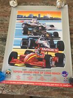 1999 Toyota Grand Prix of Long Beach 25th Anniversary Event Poster!