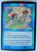 MTG Urzas Legacy Foil Thornwind Faeries-Magic The Gathering Thornwind Faeries