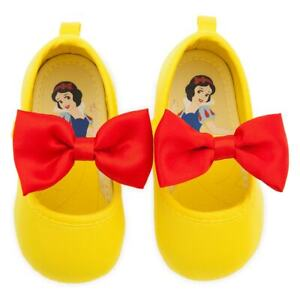 NEW Disney Store Snow White Baby Costume Shoes Yellow many sizes