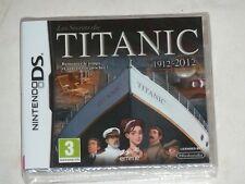 Jeu Nintendo DS Titanic 1912 - 2012 Neuf sous Blister VF
