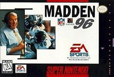 Madden NFL 96 (Super Nintendo Entertainment System, 1995) Game Only
