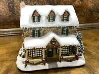 Hawthorne Village Christmas Town Lighted From the Hearts Gifts ~ Thomas Kinkade