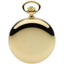 Jean Pierre Gold Plated Hunter Pocket Watch, Quartz Calendar, ref G554PQ