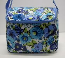 Vera Bradley Stay Cooler Lunch Tote In Blueberry Blooms NWT