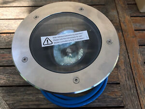 Bega 8808  Bodeneinbauleuchte Außenleuchte 20 Watt HIT Überrollbar Edelstahl neu