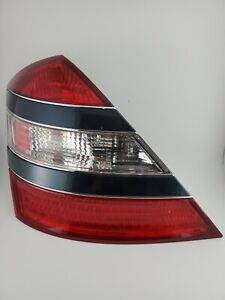 '07-'09 Mercedes Benz S550 Left (driver) Tail Light Assembly - Capri Blue - Used