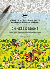 Pepin Colouring Book,Chinese Designs,Malbuch Erwachsene,hochwertige Ausführung