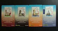 2004  Italia  4  Tessere Filateliche  Giochi Olimpici di Torino 2006