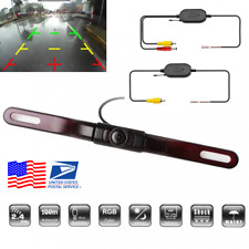 Wireless Car Rear License Number Plate Camera Night Vision for Reverse Backup US