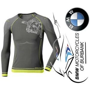 Summer Underwear Long-Sleeve Shirt - Men's Genuine BMW Motorrad Motorcycle