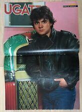 BRAVO POSTER Nino de Angelo - Sylvester Stallone - Rocky Rambo - 80er Jahre !!!